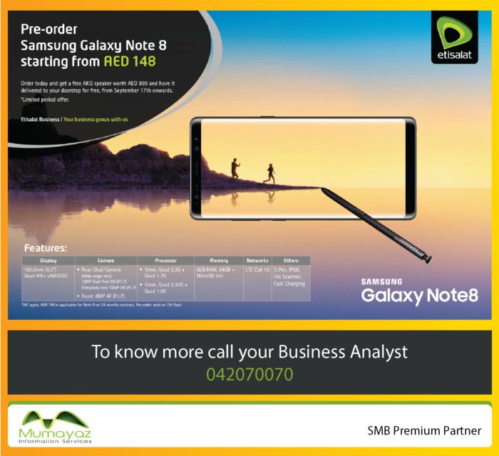 Samsung Note 8 – Mumayaz Information Services